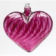 Xmas Heart Bauble