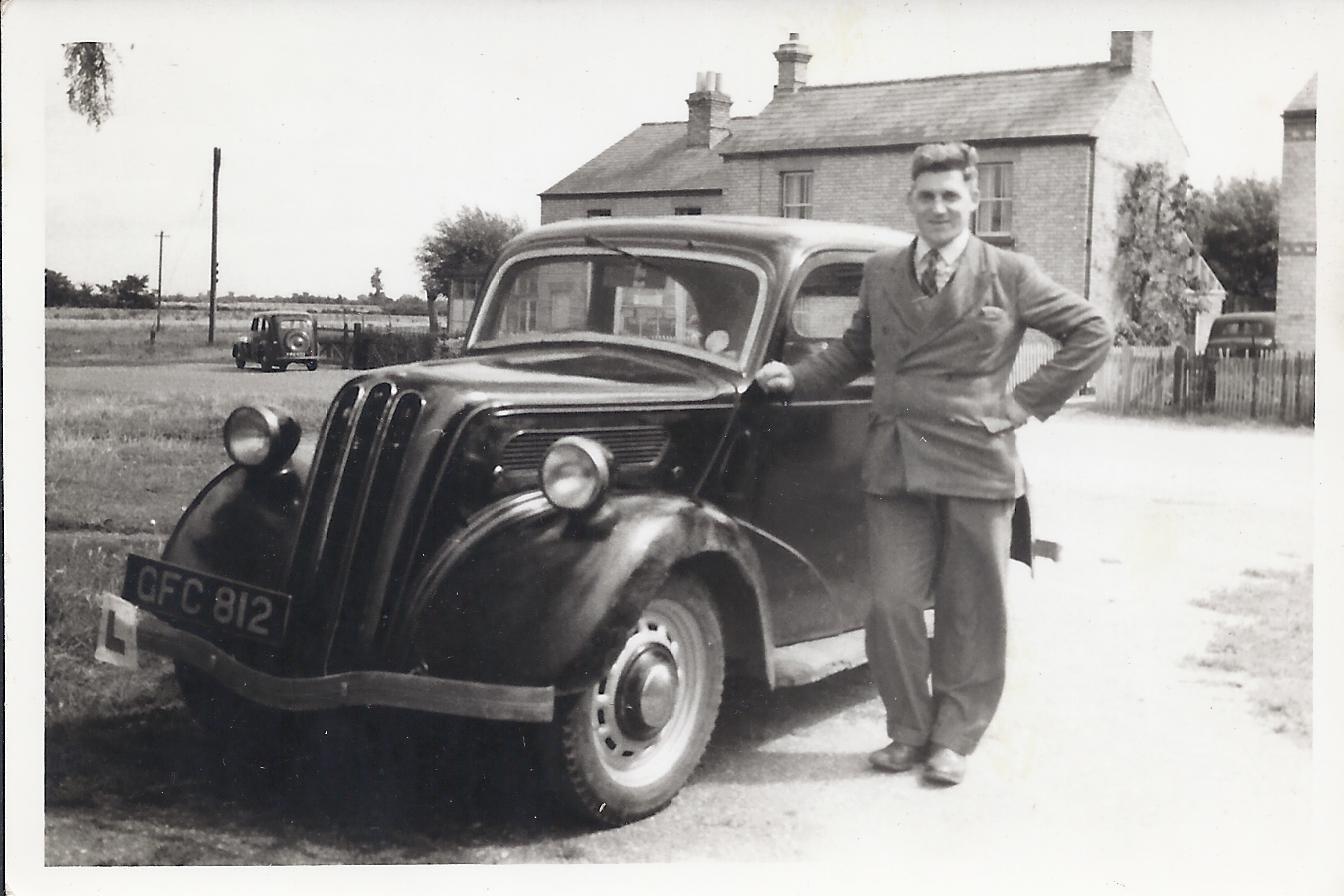 Dad & Car-page